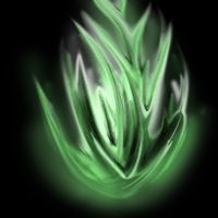 Green flame by Afireonthesnow