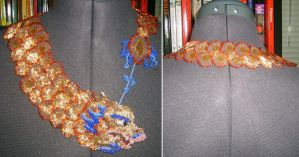 Chinese Dragon Necklace by NeitherSparky