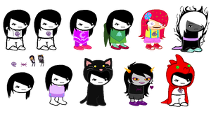 [huge fucking wip] maia sprite sheet