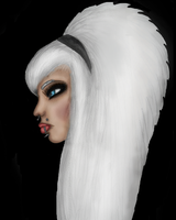 Profile view practise (head only) by Donna-Rayna
