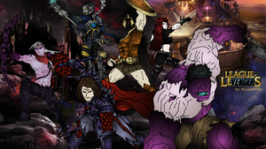 League of Avengers by Nymphtemine
