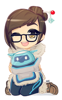Overwatch | Mei by JessicaFreaxx