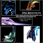 Large C4d Renders Pack 1 by DSLresources