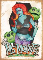 Ms. Monster by Jeffach