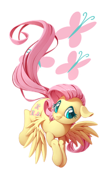 Fluttershy by LordYanYu