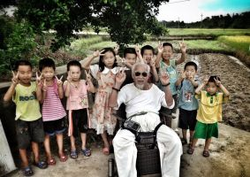 Dengchuan, China Collection: Old and Young by ison