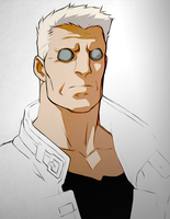 Batou by DisAintJohn