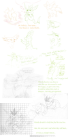 sketchs- Story from my heart by Weirda208