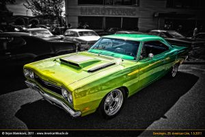 Plymouth GTX with 440ci by AmericanMuscle