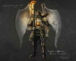 Eagle Warrior Rough Concept by Brollonks