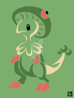 Breloom (Tribal) by calfrills