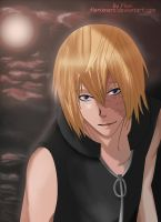 Under the red moon - Mello [Updated] by Hatake-Flor