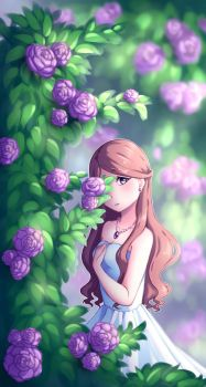 A Different Flower by DFDDraws