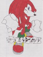 Knuckles by ColinNikka