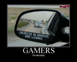 Gamer Mentality by terryki