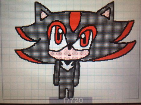 Shadow the Hedgehog - Flipnote Studio 3D by TheFactsOfLife