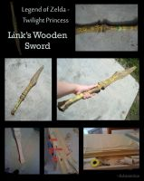Twilight Princess Wooden Sword by Admantius