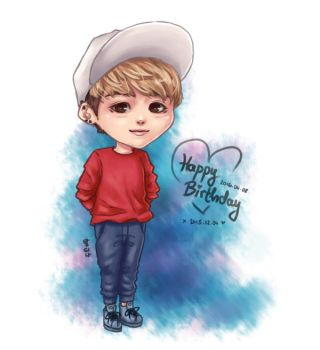 Happy Birthday Jonghyun by blingyeol