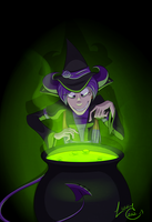 Witchywitchwitch by devilSwirl
