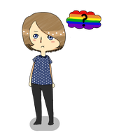 A confused queer appears by Megacas