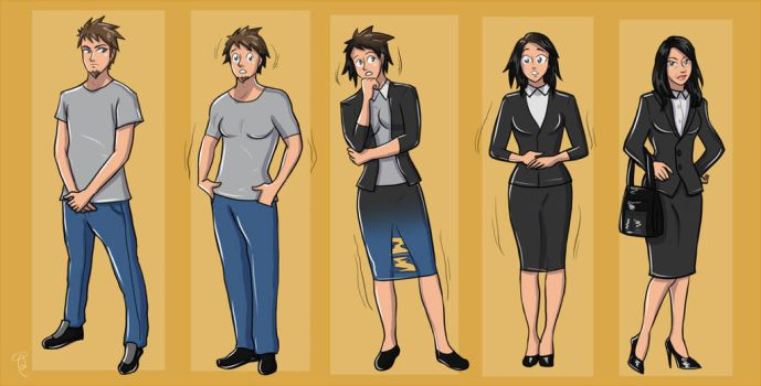 TG TF Sequence Office Lady by K1tty-Marshmell0w