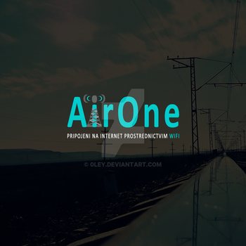 AirOne logotype by 0LEY