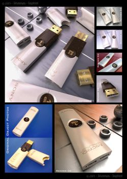 Sony USB PenDrive by Saphirot
