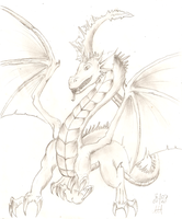 Just a dragon by DivianaAjatar