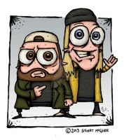 Jay And Silent Bob by stuartmcghee