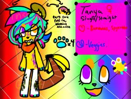 Tanya Reference Sheet by INSPECTORGH0ST