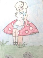 Rosalina in Wonderland by Punisher2006