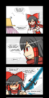Double Edge by LunarisFuryAileron