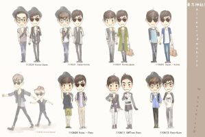 TVXQ Fly Fashion by EverKiss