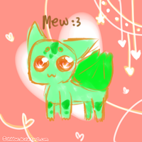 Bulbasaur Mews by Chibbur