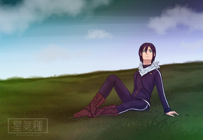 Noragami - Yato by Astralseed