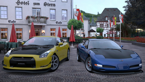 Gran Turismo 5 - Ilya and me by rossriders