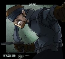 Solid Snake of Awesome by lord-phillock