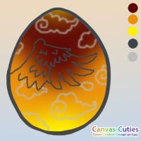 CanvasCuties - Phoenix Egg by chubby-choco
