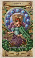 Cerebium Tarot 11 - The Justice by Hedrick-CS