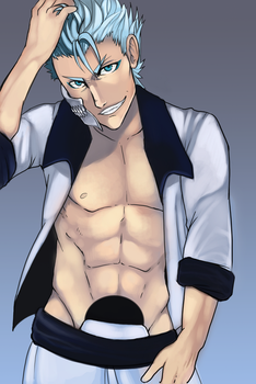 Grimmjow by Bloomseed