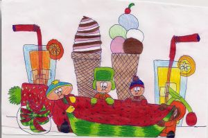 Happy Summer from South Park! by Angeliiu