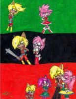 Alex and Amy: Through the Years by Sonicemma