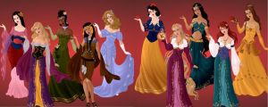 Disney Designer Fairytale Collection by autumnrose83