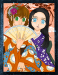 Fourth ADColor - Kimono Girls by LordNobleheart