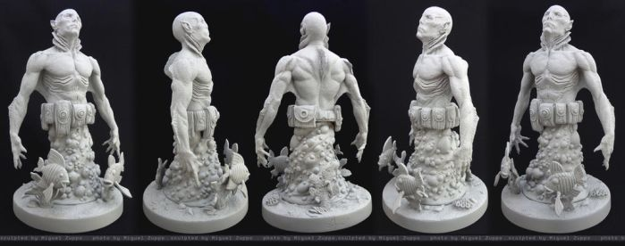 Abe Sapiens - 1/6 scale MB by Miguel Zuppo by miguelzuppo