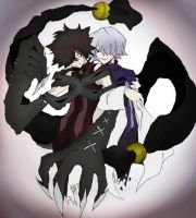 Cheshire and Break - Pandora Hearts by SandTsunami