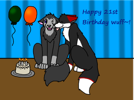 Happy 21st Birthday! by WolfTwine