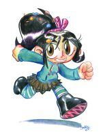 Vanellope von Schweetz by Mr-DNA