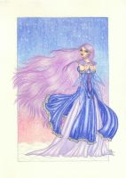 The Fairy of the Snowland by blue-willow