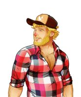 Feed The Bears - trucker by dronio